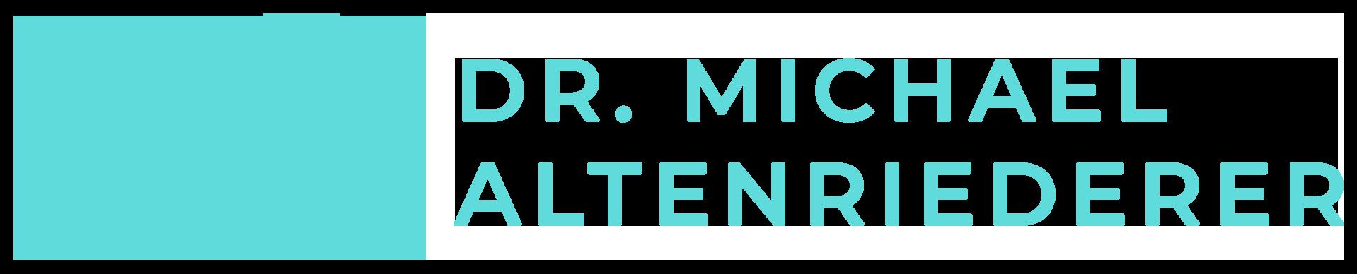 DR. MICHAEL ALTENRIEDERER